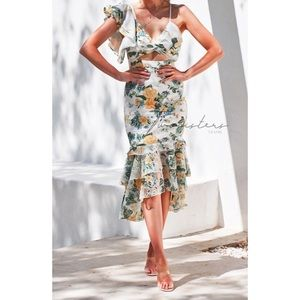 Twosisters The Label Evaliah Floral Dress NWT 4
